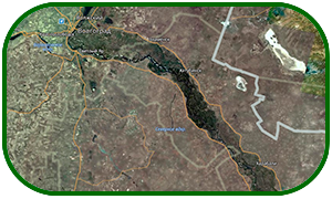Карта глубин реки Волги от Волгограда до Астрахани